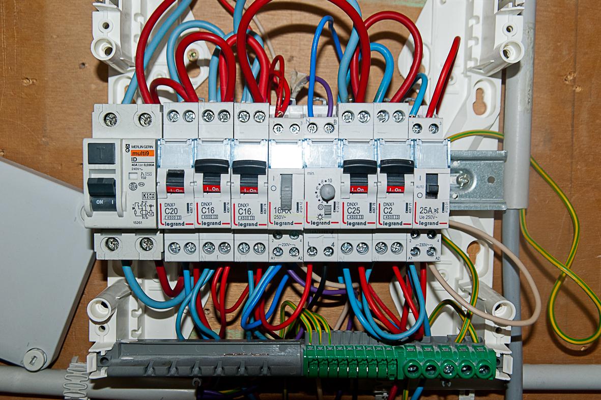Проверка фазировки кабеля